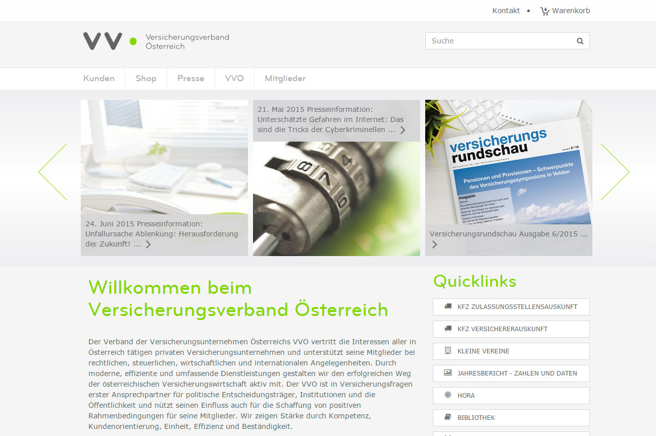 VVO Homepage