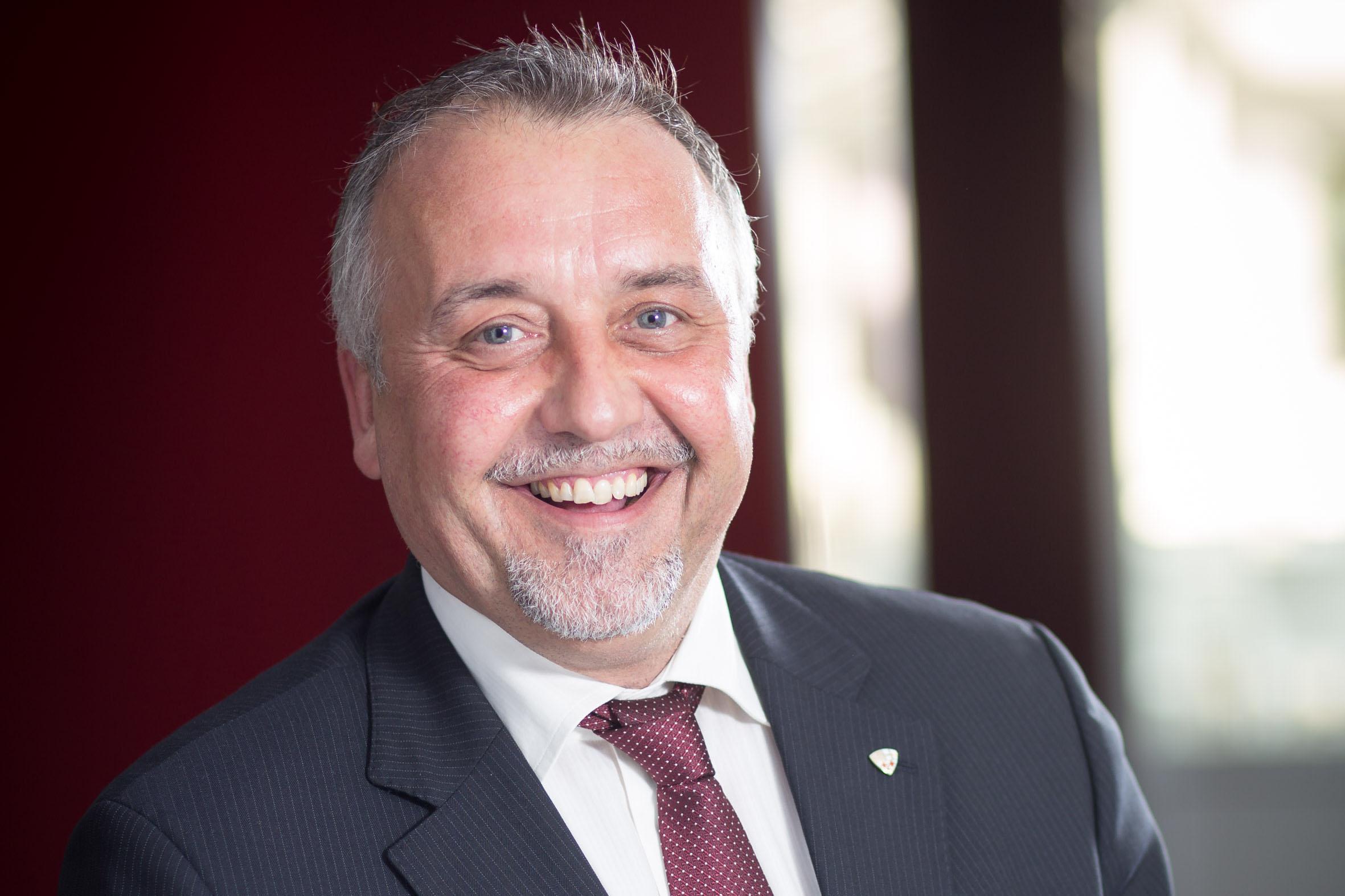 Fachgruppenobmann der Tiroler Versicherungsmakler Thomas Tiefenbrunner