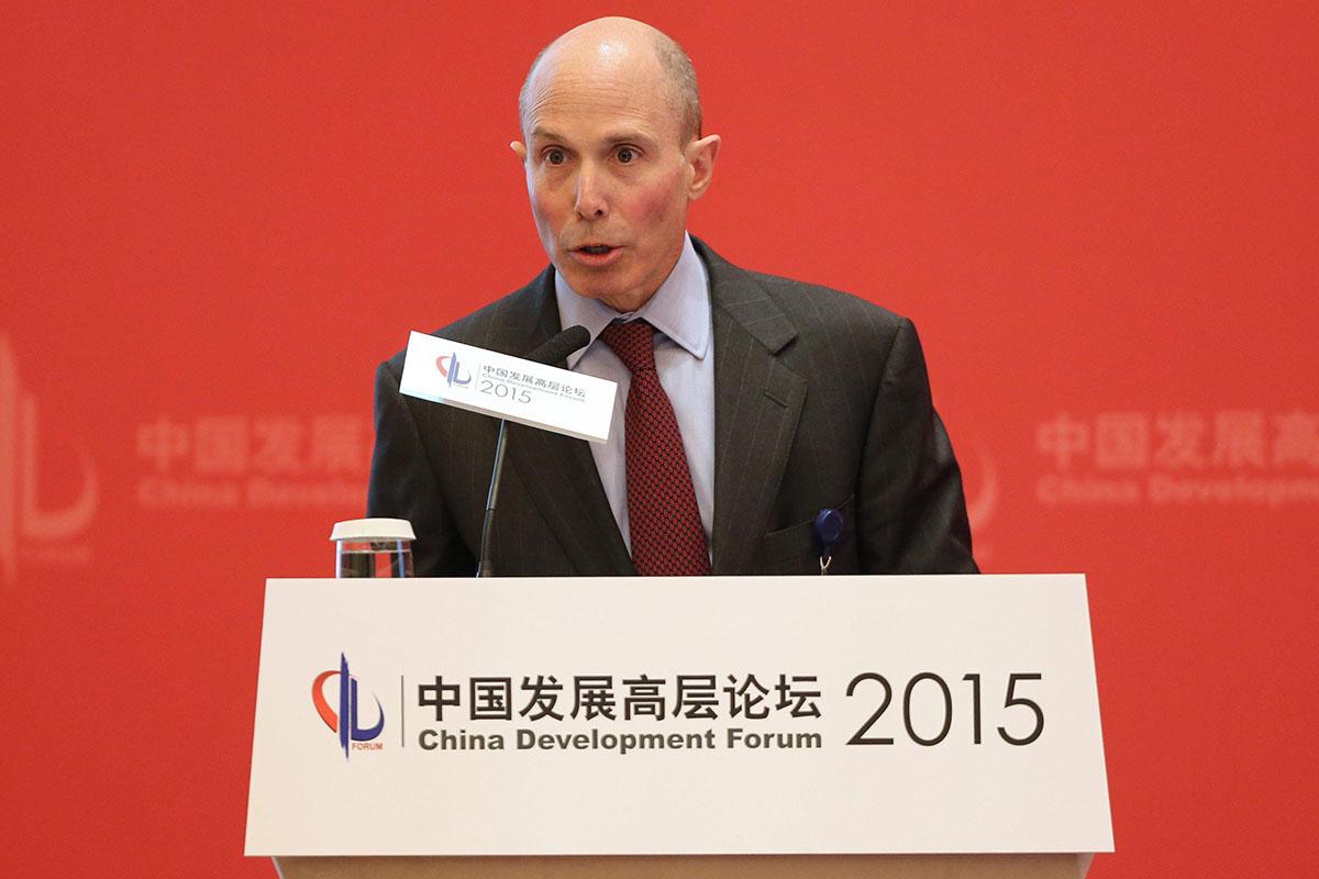 ACE-Chef Evan Greenberg. Der schweizerisch-amerikanische Versicherungskonzern schluckt den traditionsreichen Konkurrent Chubb für 28 Milliarden Dollar und übernimmt dessen Namen.