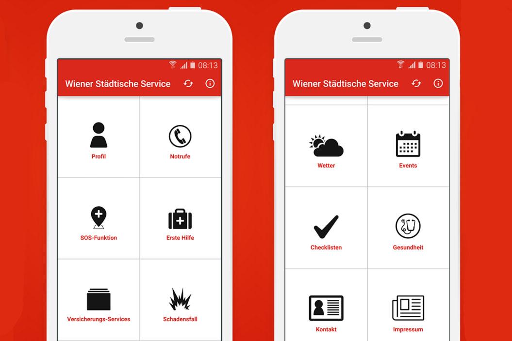 Die neue App-Welt der Wiener Städtischen