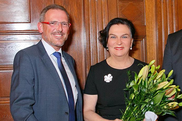 Gunther Riedlsperger und Dr. Ilse Huber