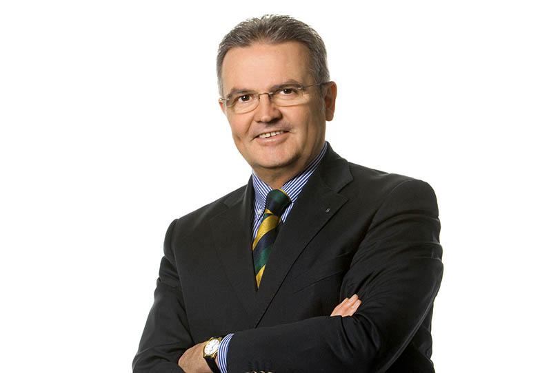 Vorstandsvorsitzender Johannes Loinger
