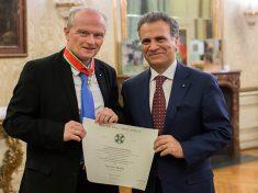 Dr. Peter Thirring und S.E.Giorgio Marrapodi