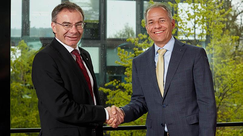 Thomas Bieger und Philipp Gmür