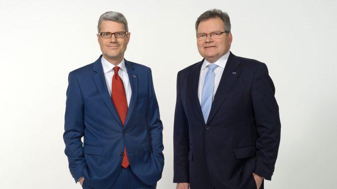 Vorstandsvorsitzender Mag. Josef Trawöger und Vorstandsvorsitzender Stellvertreter Werner Summer