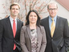 Dr. Matthias Effinger, Birgit Eder und Alexander Plank