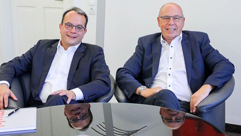 Mag. Helmut Geil und Wenzel Staub, MBA