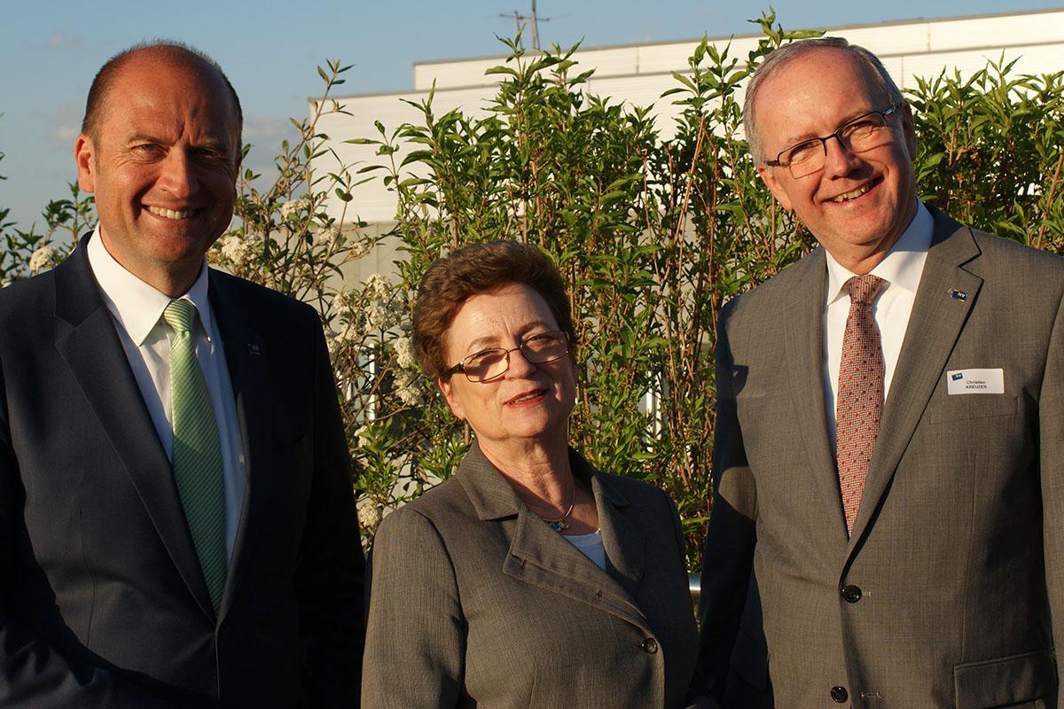 Vorst.Dir. Mag. Bernhard Lackner, Christine Bauer-Jelinek, Christian Kreuzer