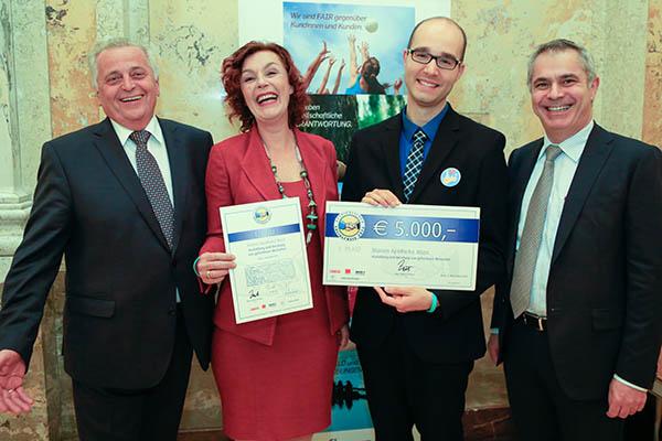 Verleihung des Betrieblichen Sozialpreises 2015