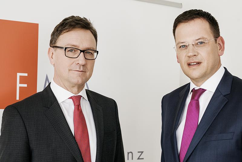 Vorstandsmitglieder Mag. Helmut Ettl und Mag. Klaus Kumpfmüller