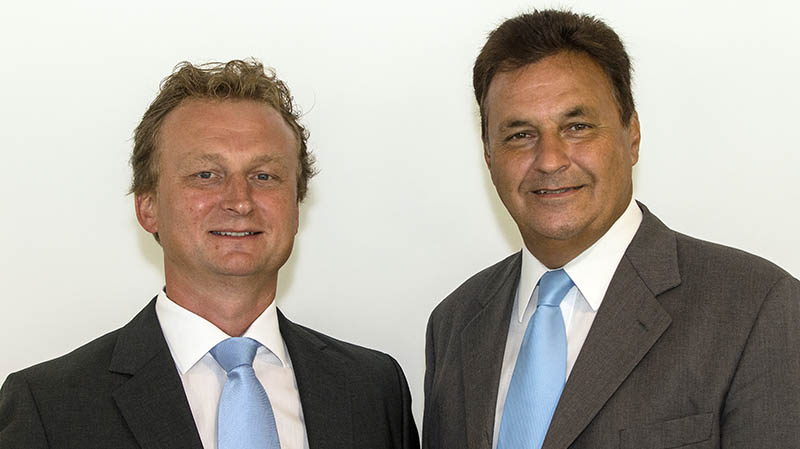 Michael Holzer und Wilhelm Brandstetter