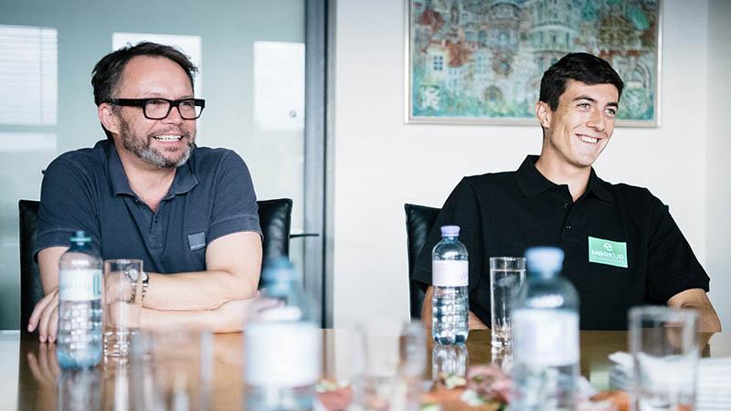 Sebastian Ofner und Gerald Kogler