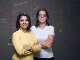 Gabrielle Costigan und Claudia Witzemann