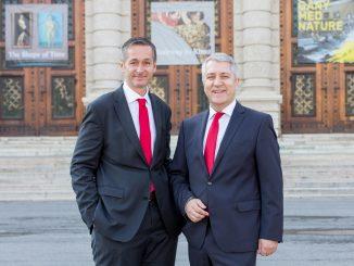 Mag. (FH) Andreas Sturmlechner, Vorstandsmitglied und Mag. Wolfgang Lackner CEO