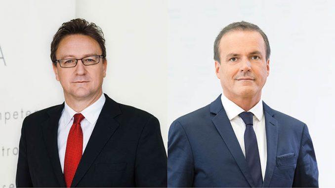 FMA-Vorstand Helmut Ettl und Eduard Müller