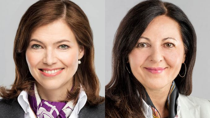 Andrea Stürmer und Mag. Silvia Emrich